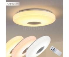 Lumsden Lámpara de techo LED Gris, 1 bombilla - 2500 Lumen - Diseño - Zona interior - 2700-5000 Kelvin - 2 - 4 días laborables .