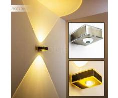 Kanpur Lámpara para exterior LED Acero inoxidable, 1 bombilla - 180 Lumen - Moderno/Diseño - Zona exterior - 3000 Kelvin - 2 - 4 días laborables .