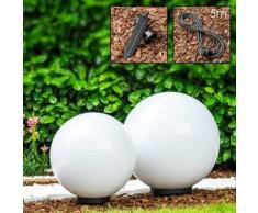Miau Lámpara esféricas Blanca, 2 bombillas - - Simpre actuales - Zona exterior - - 2 - 4 días laborables .