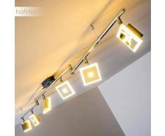 Baramita Lámpara de techo LED Cromo, 6 bombillas - 2822 Lumen - Diseño - Zona interior - 3000 Kelvin - 2 - 4 días laborables .
