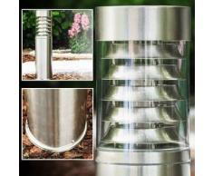 Dakar Lámpara de pie para exterior Acero inoxidable, 1 bombilla - - Moderno - Zona exterior - - 2 - 4 días laborables .