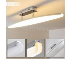 Madoc Lámpara de techo LED Cromo, 1 bombilla - 1500 Lumen - Diseño - Zona interior - 3000 Kelvin - 2 - 4 días laborables .