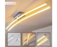 Georgina Lámpara de techo LED Cromo, 2 bombillas - 1600 Lumen - Diseño - Zona interior - 3000 Kelvin - 2 - 4 días laborables .