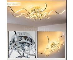 Pasadena Lámpara de techo LED Cromo, 6 bombillas - 1800 Lumen - Diseño - Zona interior - 3000 Kelvin - 2 - 4 días laborables .