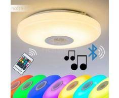 HEMLO Lámpara de Techo LED Blanca, 1 bombilla - 1400 Lumen - Moderno - Zona interior - 3000 Kelvin - 2 - 4 días laborables .
