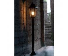 Lutec BRISTOL Iluminación de camino Negro, 1 bombilla - - Clásico - Zona exterior - - 2 - 4 días laborables .