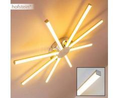 Georgina Lámpara de techo LED Cromo, 8 bombillas - 2400 Lumen - Diseño - Zona interior - 3000 Kelvin - 2 - 4 días laborables .