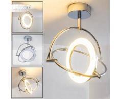 Globo ORELL Lámpara de techo LED Cromo, 1 bombilla - 1800 Lumen - Moderno/Diseño - Zona interior - 3200 Kelvin - 4 - 8 días laborables .