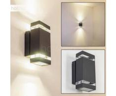 Lutak Aplique para exterior Negro, Antracita, 2 bombillas - - Moderno/Diseño - Zona exterior - - 2 - 4 días laborables .