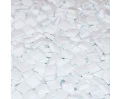 Mixed de Store Cristal Mosaico 10 x 10 x 4 mm, 700 g, color blanco, 803065