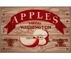 Asturdintex - Alfombra Cocina Mas-Casa Apples 50X80 55355