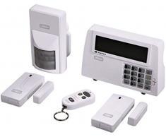 Xavax 111977 Kit de Alarma Inalámbrica con Sensor Magnético 1 Detector de Movimiento Mando a Distancia