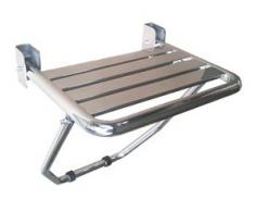Mediclinics AM0251C - Asiento De Ducha Con Pie Brillo
