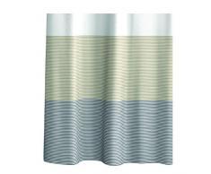 Mystique Aquasanit A101400IMP000 Cortina de ducha con anillos, 180 x 200 cm