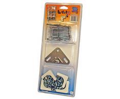 Simonrack 90130000091 - Blister de accesorios para estantería sin tornillos