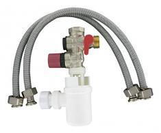 Comap S600502 - Grupo de seguridad para el calentador de agua con un tubo de sifón / 2 pulgadas para el suministro d