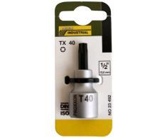 Salki -Proxxon 2223492 - Vaso 1/2+ punta tx 40 l/55
