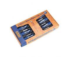 Alyco 119085 - Juego 6 destornilladores con vaso hexagonal 6,8,10,11,12 y 13 en caja de carton
