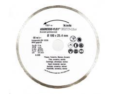 kwb 725750 Corte del disco 1pieza(s) accesorio para amoladora angular - accesorios para amoladoras angulares (Corte del disco, Cerámica dura, Mármol, Azulejo, Universal, Gris)