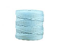 Cofan 08101012 - Cordón trenzado polipropileno para persianas, 5 mm, color azul claro