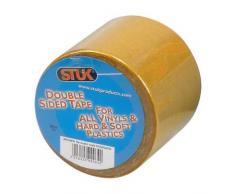 STUK ds505avd 50 mm x 5 m cinta de doble cara resistente para vinilo de y plásticos, color beige