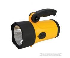 Silverline 222105 - Foco LED recargable, litio (LED 1 W)