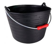 Rubi 88772 - Cesto (Plástico, 20 l) color negro