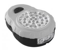 KWB LED Lámpara de Seguridad, superhell plegable gancho con parte trasera magnética y no de Scratch Protector de pantalla, 4 unidades, 948461