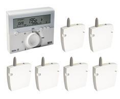 Delta Dore DEL6050458 - Termostato para calentador de agua (3 zonas)