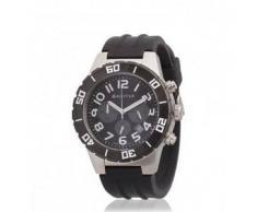 Bilyfer. Reloj analógico cronógrafo 2W413 N negro, plata