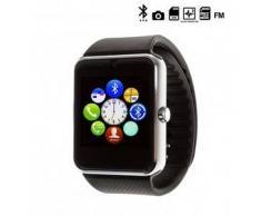 Tekkiwear by dam. Reloj digital con bluetooth GT08 negro, plata