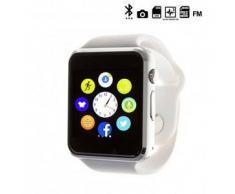 Tekkiwear by dam. Reloj digital con bluetooth G08 blanco