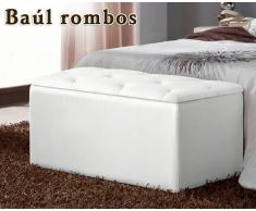 Baúl abatible Rombos de HOME