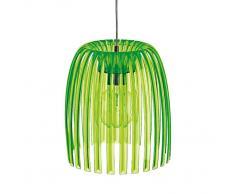 Koziol Josephine Lámpara De Techo M Verde Transparente