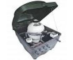 AstralPool Compacto semienterrado Kefren con filtro y bomba - Filtro Cantabric 600 + Bomba Victoria Plus 1 CV con armario