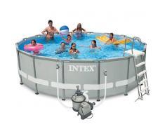 Piscinas Intex Piscina Intex Ultra Frame depuradora arena 488x122 28324NP