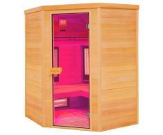 Holl's Sauna infrarrojos Multiwave rinconera 3-4 personas