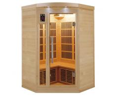 France Sauna Sauna infrarrojos Apollon rinconera 2-3 personas
