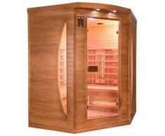 France Sauna Sauna infrarrojos Spectra rinconera 3 personas
