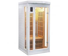 France Sauna Sauna infrarrojos Soleil Blanc 1 persona