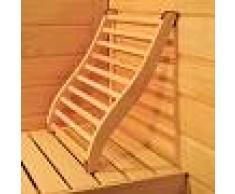 France Sauna Respaldo ergonómico para sauna