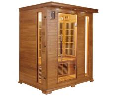 France Sauna Sauna infrarrojos Luxe 3 personas