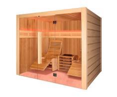 Holl's Sauna tradicional de vapor Alto Vap 2 personas