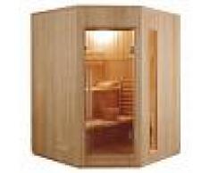 France Sauna Sauna tradicional de vapor Zen rinconera 3-4 personas - Con instalación