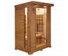 France Sauna Sauna infrarrojos Luxe 2 personas
