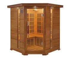France Sauna Sauna infrarrojos Luxe rinconera 3-4 personas