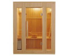 France Sauna Sauna tradicional de vapor Zen 3 personas
