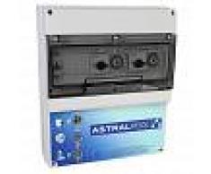 AstralPool Armario maniobra 2 bombas y control iluminación transformador 300W - Tipo C + Tipo D