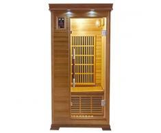France Sauna Sauna infrarrojos Luxe 1 persona