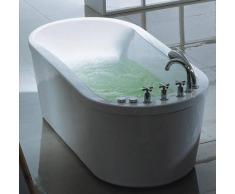 Bañera de hidromasaje ECO-DE® OVAL 175x77x54 cm